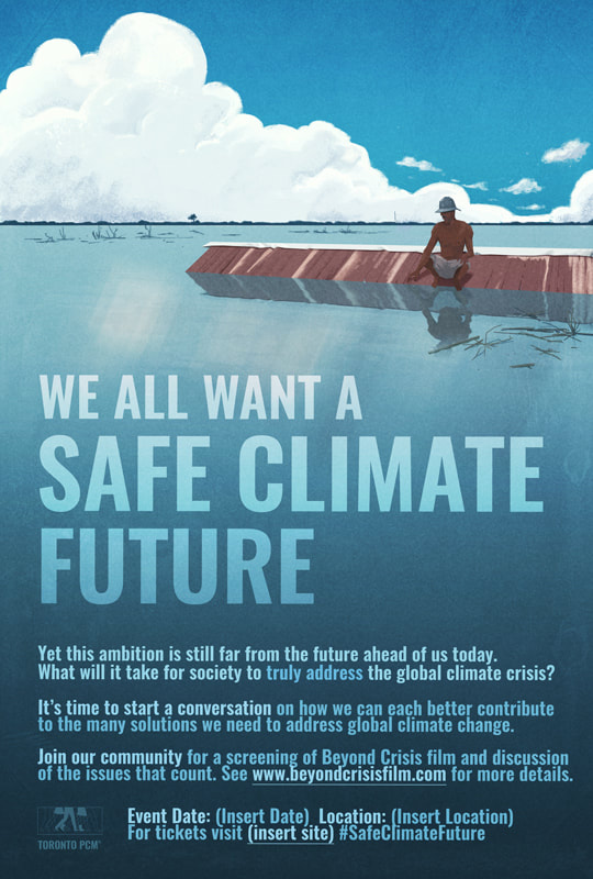 Safe Climate Future Poster Template