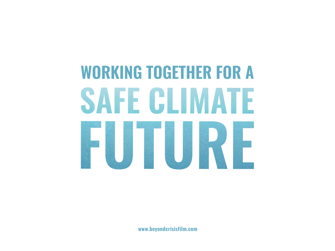 Working Together Safe Climate Future