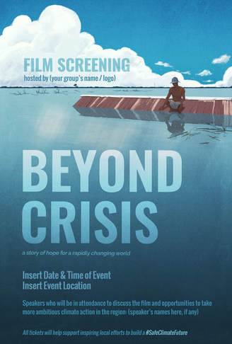 Beyond Crisis Film Poster Template