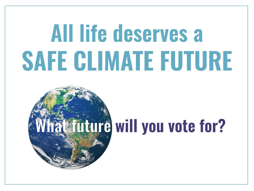 Vote Climate Action Poster