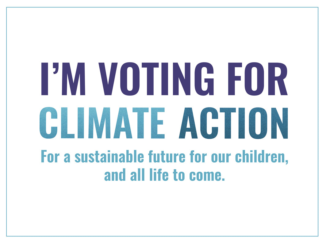 Voting Climate Action Poster